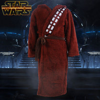 Wholesale Star Wars Chewbacca Bath Bathrobe Cloak Mantle Cape Robe Cosplay Costume Gown