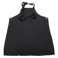 work apron - Professional Salon Apron Hairdressing Cloth Black Apron Fashion Home Aprons Work Wear Apron