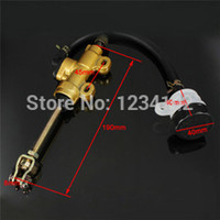 atv master cylinder - REAR MOTORCYCLE DIRT PIT BIKE ATV HYDRAULIC MASTER OIL BRAKE RESERVOIR CYLINDER