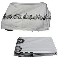 Wholesale Bike Motorcycle Rain Dust Cover Waterproof Outdoor Scooter Protector Gray hv3n