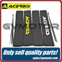 dirt bike shock absorber - 1 Pair of ACERBIS Front Fork Shock Absorber Cover Protector Guard Wrap Cover Set for Motorcycle Dirt Pit Bike