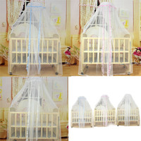Cheap Durable Baby Infant Bed Mosquito Mesh Dome Curtain Nets for Toddler Crib Cot Canopy Mosquito Net