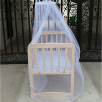 Cheap Superior Hot Selling Baby Bed Mosquito Mesh Dome Curtain Net for Toddler Crib Cot Canopy June11