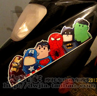 awesome car stickers - xcar sticker Super hero hitchhike American Hero cool car styling awesome cover Let ride the hero