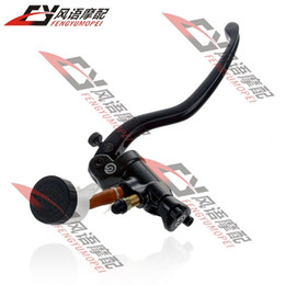 Wholesale Motorcycle refires abalone modified pump round oiler brembo Brake Master Cylinder