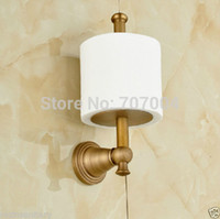 antique style toilets - And Retail Retro Style Antique Brass Toilet Paper Holder Wall Mounted Roll Toilet Paper Rod