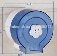 abs paper - Bathroom Round Wall Mounted ABS Toilet Paper Holder
