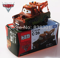 toy tow trucks - Brand New Pixar Cars Race Team Diecast Metal Toys Tow Mater Truck With Emmagee Alloy Pixar Car Toy
