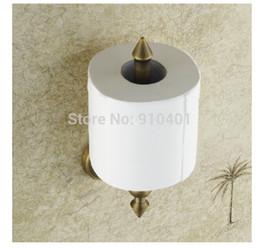 Wholesale Hot Sale And Retail Promotion Modern Antique Brass Bathroom Toilet Paper Holder Tissue Roll Holder Paper Bar
