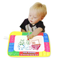 aqua sand - x19cm Baby Kid Toy Aqua Doodle Water Drawing Mat Child Painting Writing Board with Magic Pen FZ1903