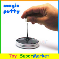 bass scales - Magic Thinking Putty Super Magnetic Plasticine DIY Magnet Clay Putty Playdough Play Doh Bouncing Zoyo Creative Toys