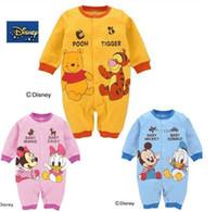 Wholesale Baby Romper Boys Girls Jumpsuit Fit Yrs Long Sleeve Cartoon Jumpsuit Colour