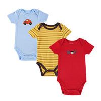 Wholesale High Quality Short Sleeve Baby Jumpsuit Baby Bodysuits Fashion Cotton Toddler Jumpsuit Infant Clothes Set Bab