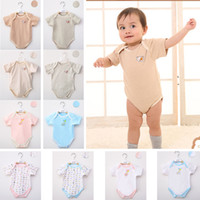organic baby rompers - pieces No staining Organic Cotton Baby clothes Ropa bebe Newborn outfit Climb clothes Baby Rompers months