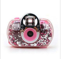 Wholesale CREATIVEBAR LOMO Camera mini Lovely Portable Lomo Flowe camera DIY Kit film birthday gifts