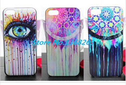Wholesale news Cool Eyes Pattern National Wind Style For iphone for iphone s case piece