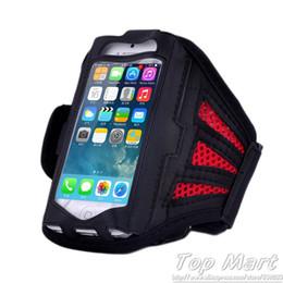 Nylon Running Sport Armband for  4 4S 5 5S 5C for  Galaxy S3 mini i8190