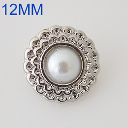 Wholesale 12mm Single molding metal buttons snaps MM small size snaps style buttons fit button jewelry KB6560 S