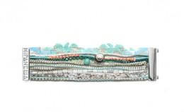 Wholesale New DIY Bohemia Summer HIPANEMA Bracelet Handmade Beach Bracelet Magnetized Brazilian Glamour Jewelry HIP217