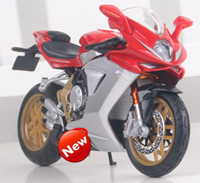 agusta sports - freeshipping Maisto MV Agusta F3 serue oro sport With suspension Alloy super motorcycle Model