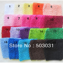 Wholesale baby girls Kids quot crochet chest Knitted chest Tube Tops Chest Wrap Wide Crochet headbands
