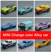 Wholesale Hotwheels MINI Change color alloy car model new box in stock now different for your choose