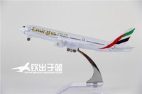 arab emirates uae - 16cm Metal Airplane Plane Model UAE United Arab Emirates Boeing B777 Airlines Aircraft Model Diecasts Toy Collection