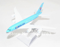 airbus airline - Airbus A380 Korean Airline Diecasts Metal Scale Model Airplane CM Desk Decoration