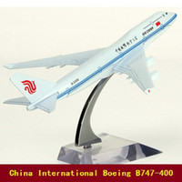 aviation china - Boeing China International Aviation B747 aircraft model cm airplane model Metal airlines plane model toys Christmas gift