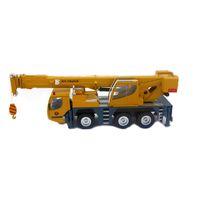 toy crane - Heavy duty crane huayi Giant crane engineering truck car model alloy car models double cab Gift children s toys