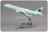 air canada airlines - 16cm Metal Airplane Plane Model Air Canada Boeing B777 Airlines Aircraft Alloy Model Diecasts Souvenir Toy Vehicles Gifts