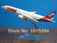 aircraft model collection - New BRASIL TAM B777 Passenger Airplane Plane Aircraft Metal Diecast Model Collection Hot Sale