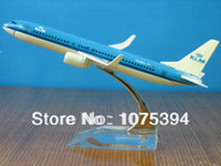 airline aircraft models - KLM Airlines BOEING737 Passenger Airplane Plane Aircraft Metal Diecast Model Collection