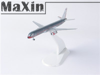 american airlines usa - Silver Model Airplane American Airlines Boeing USA Flag StarJets NG79AN Plane Toy Diecast Models