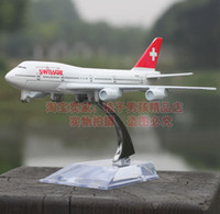 airplanes boeing - Swissair Boeing aircraft simulation model alloy metal airplane model aircraft model toy cars and aircraft in Europe