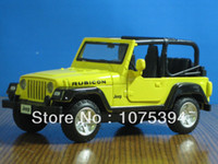 Wholesale New Wrangler RUBICON Jeep Convertible Metal Diecast Model Collection Pull Back Action