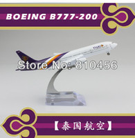 airline aviation - Thailand airlines B777 cm metal airplane models aviation model aircraft airplane models