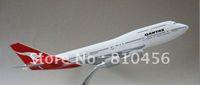 australia airlines - by ems Australia airline Qantas air plane B747 airplane model cm Resin airplane models promotion gift