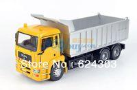 best diecast - newest MAN Yellow Dump truck Diecast Model the best kids toys