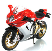 agusta motorcycles - 1 motorcycle models for MV Agusta F3 With suspension motorcycle diecast model Metal model motorcycle gift toy