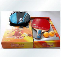 Wholesale 729 long short handles two sided inverted rubber table tennis bat