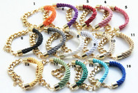 arm candy bracelets - M amp T PC New Bracelet Bangle Arm Candy trendy Gold Chunky Chain Bracelet Bangle