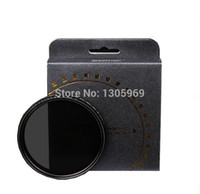 Wholesale ZOMEI mm Fader ND Filter Adjustable Variable Neutral Density Filter ND2 to ND400 mm Filter