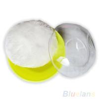 baby powder puff case - Hot Sale Baby Beauty Multicolor Cosmetic Villus Powder Puff Sponge Case Makeup Tool ASJ