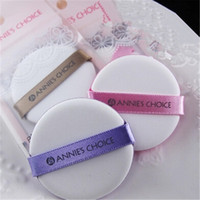 anne free - 3 Anne air cushion professional circle ribbon facial face care cotton makeup cosmetic powder new cleansing