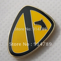 army lapel pin - US ARMY ST TEAM HORSE CAVALRY DIVISION LAPEL PIN BADGE