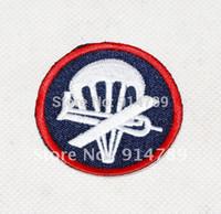 airborne wwii - WWII WW2 US AIRBORNE PARATROOPER GARRISON CAP BADGE INSIGNIA