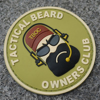 air force quilt - Tactical BEARD club patch military patch army badge air force combat team symbol logo eco friendly PVC material