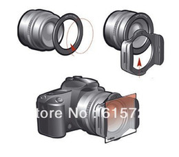 Wholesale-62mm ring Adapter + 10pcs square color filter + Filter box +filter holder for Cokin P series+tracking number