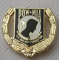 accessories pows - US USA ARMY POW MIA PRISONER OF WAR MILITARY HAT LAPEL PIN